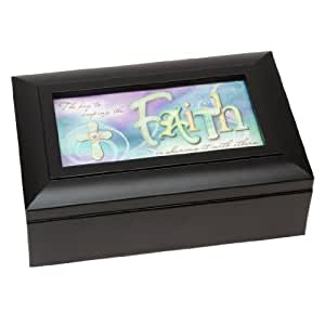 The Key to Keeping the FAITH, is Sharing it with Others - Musical Jewellery Box Playing Oh What a Wonderful World