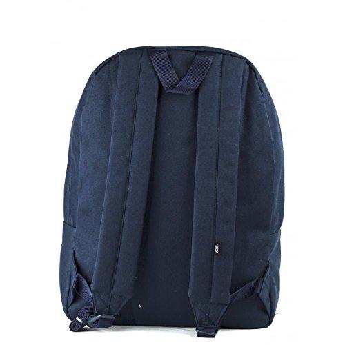 Imagen de vans old skool ii backpack  tipo casual, 42 cm, 22 liters, azul navy  alternativa