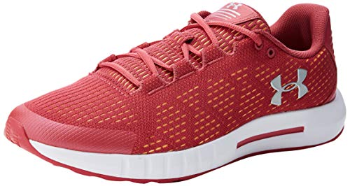 Under Armour Micro G Pursuit Se, Zapatillas de Running para Mujer, Rosa (Impulse Pink/White/Metallic Silver 600), 38.5 EU