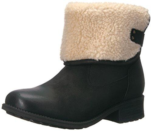 UGG Australia Womens Aldon Black Leather Boots 38 EU d'occasion  Livré partout en Belgique