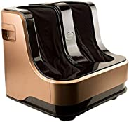 Lifelong LLM99 Foot, Calf and Leg Massager, (With Heat and Vibration), 80W, 4 Motors, Dark Brown