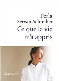 Ce que la vie m'a appris par Servan-Schreiber