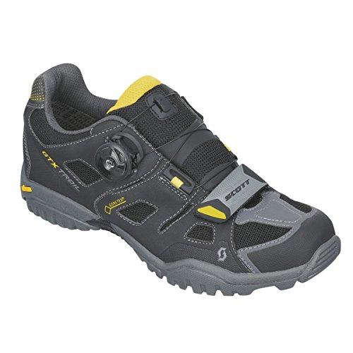 Scott Trail Evo Gore-Tex Herren Traillaufschuhe schwarz/gelb
