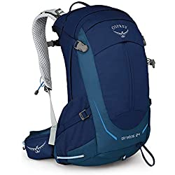 Osprey Stratos 24 Men's Ventilated Hiking Pack - Eclipse Blue (O/S)