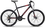 Fuji Unisex Adult Adventure 27.5 Mountain/Sports Bike - Black, 17 Inches
