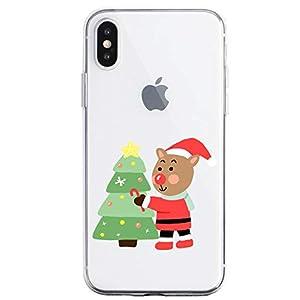 Oihxse Case Compatible con Huawei Mate 20 Pro Funda Transparente Silicona Suave Carcasa Protectora Navidad Santa Deer… 3