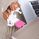 TAOtTAO Lustige Nette USB Pet Humping Spot Hund Spielzeug Relief Stress Weihnachtsgeschenk LOT JK (Braun)