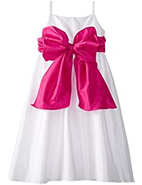 Us Angels Big Girls' Empire Taffeta Dress
