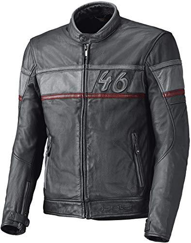 Held Stone Motorrad Lederjacke Anthrazit/Grau 54