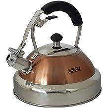 Voche® - Hervidor de agua de acero inoxidable y de cobre, con capacidad de