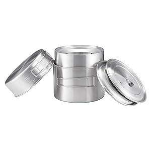 41XZsJJU qL. SS300  - Solo Stove 2 Pot Set Cooking System