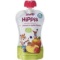 HiPP Waldbeeren in Apfel-Pfirsich, 1er Pack (1 x 100 g)