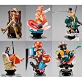 Megahouse - One Piece Chess Piece Collection Vol. 2 Trading Figure Display 9 (japan import)