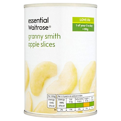 Apple Slices essential Waitrose 385g