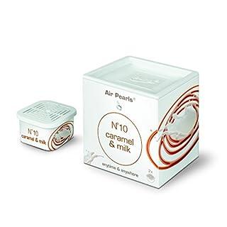 ipuro air pearls no. 10 caramel & milk capsule, 1 Box (2 x Kapseln)