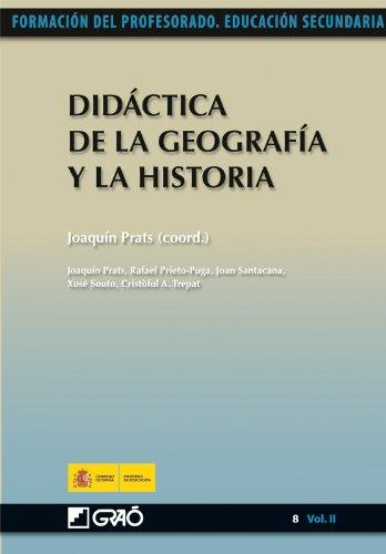 Didáctica de la Geografía y la Historia: 082 (Formacion Profesorado-E.Secun.)