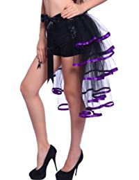 Halbrock 65cm FREESIZE Burlesque Rock Crazy Chick tutu Tuetue Gothic Rock