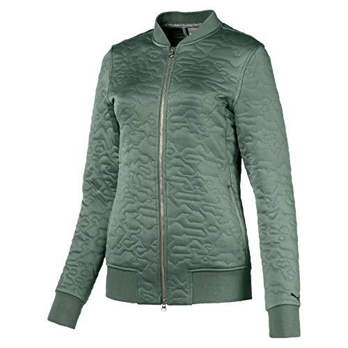 Puma Damen W Bomber Jacket Trainings Jacke, Laurel Wreath, S - Laurel Long Sleeve