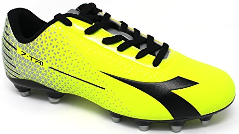 Diadora Fußballschuhe Herren  7 tri MG14  172390 c3970  Gelb Fluo/argento 45