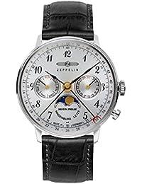 Zeppelin Unisex-Armbanduhr Chronograph Quarz Leder 7037-1