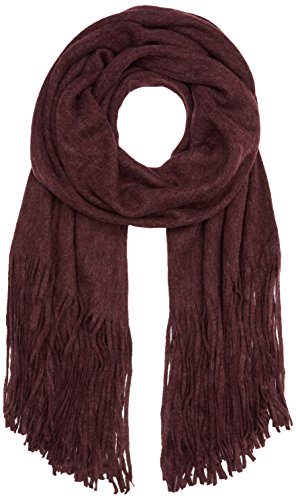 PIECES Damen Schal Pcdrace Long Scarf Noos, Rot (Port Royale), One Size (Schal Port)