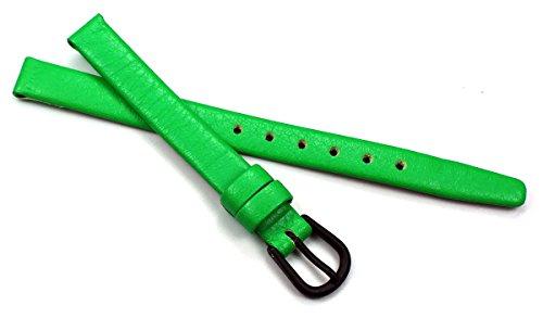 8mm Kalbleder Uhrenarmbänder für Damen in verschiedenen modischen Farben handgemacht in Deutschland Echt Leder