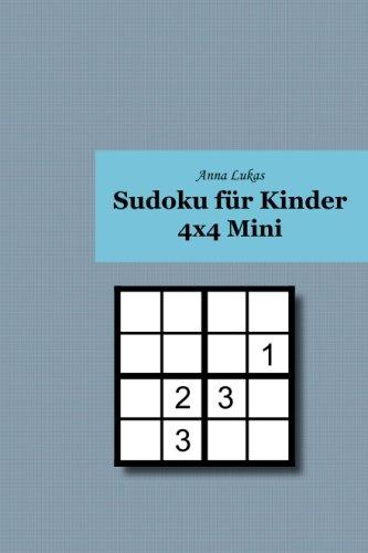 Sudoku für Kinder 4x4 Mini