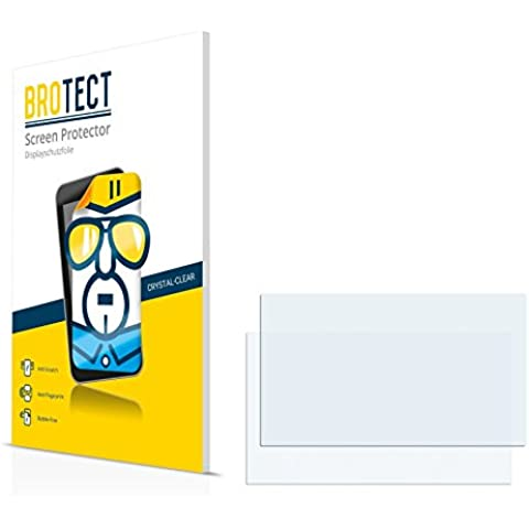 2x BROTECT HD-Clear Protector Pantalla Mercedes-Benz Becker Map Pilot B-Class Sports Tourer (2011) Película Protectora – Transparente,