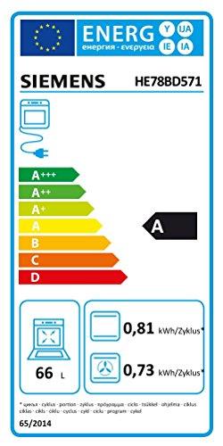 Siemens EQ871EX01B edition111 Herd-Kochfeld-Kombination (Einbau)/59,5 cm/Power Management Funktion/Selbstreinigungs-Automatik/100{57fe5db4efca6d6a2fb2d5d3666730f81b2247831df311489932b82cfa069268} Heißluft