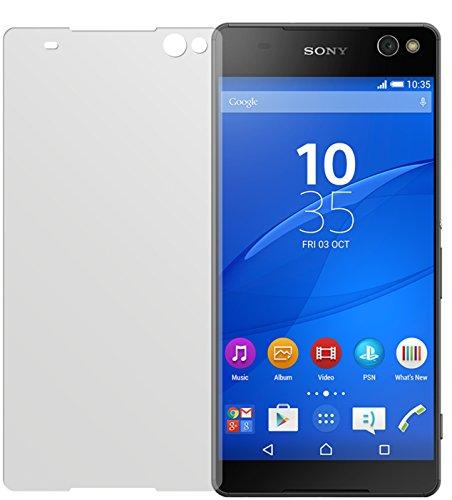 dipos I 6X Schutzfolie matt passend für Sony Xperia C5 Ultra Folie Bildschirmschutzfolie
