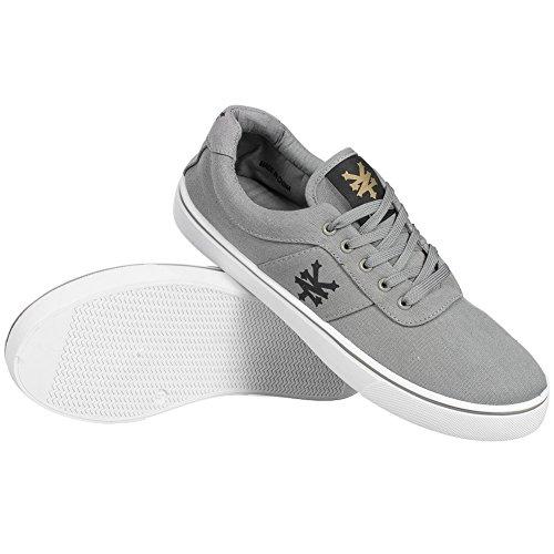 ZOO YORK Sneaker Uomo ZYFM003-Grau