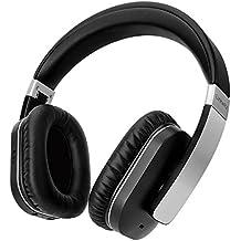 Bluetooth Kopfhörer, Linkwitz F5A, Active Noise Cancelling, Wireless Over-Ear Headset mit Bluetooth 4.1, eingebautes Mikrofon, HiFi Stereo, Atp-X- Stahl Schwarz,