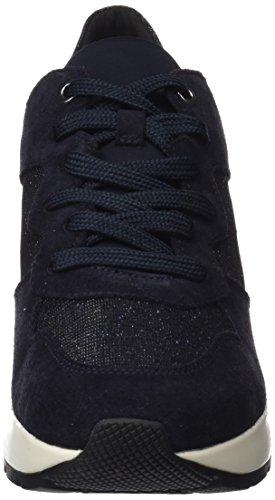 Geox Damen D Zosma C Sneaker Blau (Navy)