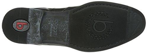 Bugatti - U86021, Scarpe stringate basse derby Uomo Nero (Schwarz (schwarz 100))