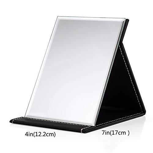 HD- Falten Schminkspiegel,Desktop Tragbar Eitelkeit Make-up-Spiegel Große Trompete Kosmetikspiegel Für Kosmetik Make-up-I 12.2x17cm(5x7inch) -