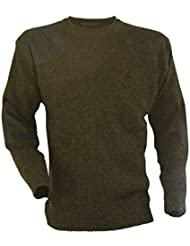 Percussion - Pull de chasse col rond broderie Percussion