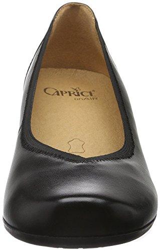 Caprice 22301, Scarpe con Tacco Donna Nero (BLACK 1)