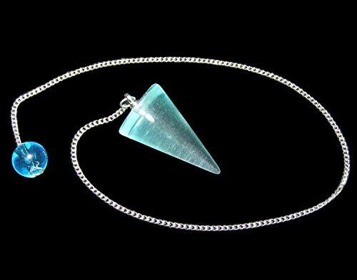 Blaues Obsidian Kegel Pendel Kegel-stopper