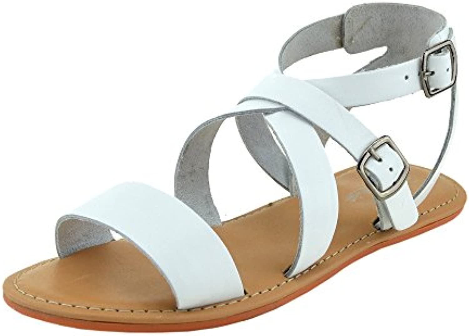 dae4b9bee006 Kick Footwear - Ladies Fashion Fashion Fashion Summer Casual Sandals  Natural Leather Shoes B01EVXOQCE Parent a7f53d
