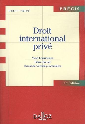 Droit international privé - 10e éd.: Précis