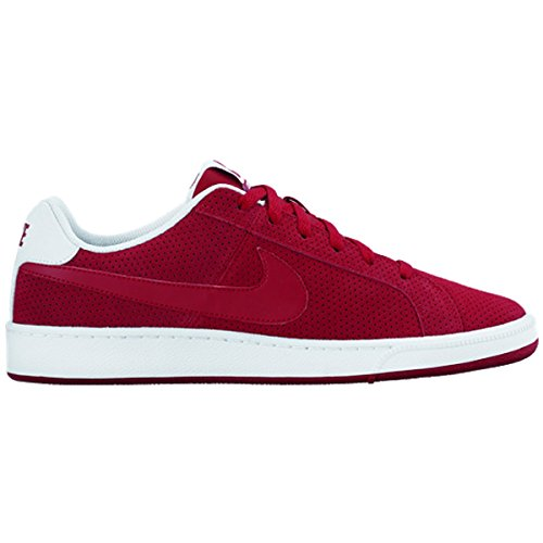 Nike Court Royale Prem Leather, Chaussures de Sport Homme, Bleu Rouge - Rojo (Gym Red / Gym Red-White)