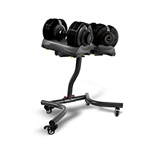Bodymax 2 x 5 kg - 32.5kg (11lb - 71lb) Selectabell Dumbbell & Stand