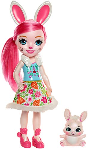 Enchantimals Bree Bunny 30cm Doll with Twist Bunny Puppe - 30 Twist