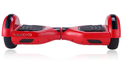 FIT4HOME Navboard Self Balancing Two Wheel Scooter Howerboard - Red