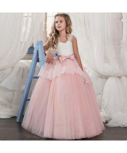 Lzh abiti da cerimonia nuziale di ballo di comunione di promenade della principessa della festa nuziale del ricamo del vestito da spettacolo delle ragazze