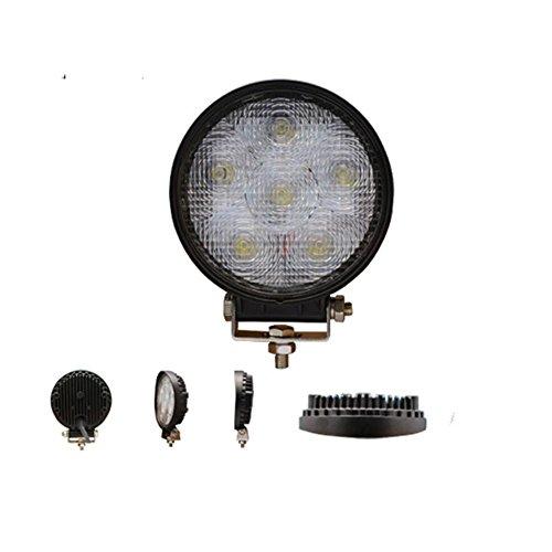 PENG Auto-LED-Licht 4-Zoll-Kreis 18W LED Tagfahrleuchten / Lampen // Engineering Wartungsarbeiten Licht / Offroad-Dach Notleuchten Scheinwerfer (kaufen One Get One)