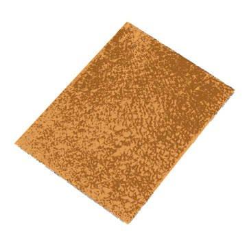 GLOREX Crackle Mosaic Platte, Glas, Goldfarben, 15 x 0.5 x 27 cm