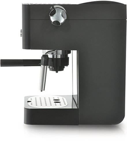 Gaggia RI8425/11 coffee maker – coffee makers (freestanding, Manual, Espresso machine, Ground coffee, Espresso, Coffee, Black, Silver)