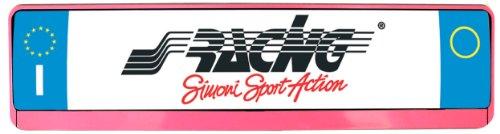 Preisvergleich Produktbild Simoni Racing PTX/5P Kennzeichenhalter Universal hinten, Pink