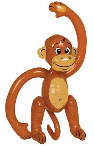 Scimmia Gonfiabile - confezione da 5 [Toy]